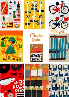 MIZUKI GOTO, COLLAGE ARTIST - Fishinkblog 5542 Mizuki Goto 2 Check out my blog ramblings and arty chat here www.fishinkblog.w... and my stationery here www.fishink.co.uk , illustration here www.fishink.etsy.com and here http://www.fishink.carbonmade.com/projects/4182518#1 Happy Pinning ! :)