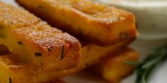 Polenta Chips with Rosemary Salt