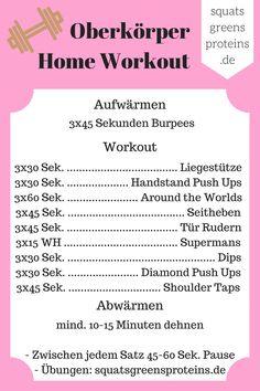 Alles, was du für dieses Home Workout brauchst, sind 30 Minuten Zeit und zwei volle Wasserflaschen (oder Hanteln) - auf geht's!