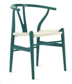 Wishbone chair. Black is nice and other colors.Hans Wegner's Wishbone Chair Remodelista