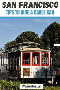 Find tips for riding San Francisco's historic cable cars. Discover the best places to sit, how to avoid the lines, and what you'll see on each line. #cablecarssanfrancisco #sanfranciscotransit #sanfranciscothingstodo California Travel Guide, Lakes In California, California Coast, California Dreamin', San Francisco Transit, San Francisco Cable Car, San Francisco Neighborhoods, Kayaking, The Good Place