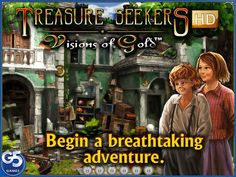 Treasure Seekers: Visions of Gold HD (Full) on App Store:   Free for a limited time! Dont miss out! NOTE: If your game gets stuck on the Continue to Game screen after updating to iOS 10 please follow...  Developer: G5 Entertainment  Download at http://ift.tt/2lET6CO
