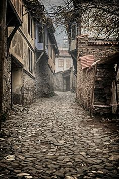 The medieval village Cumalıkızık in Bursa, Türkiye Medieval Village, Medieval Houses, Bg Design, Italy Art, All Nature, Fantasy Landscape, Art And Architecture, Turkish Architecture, Places To See