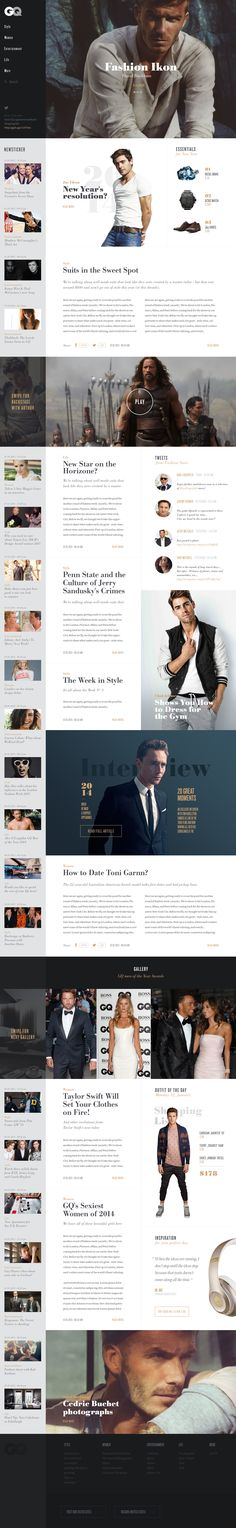 GQ Redesign Concept by Tropfich