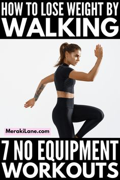 7 Walking Workouts for Weight Loss | If you want to create a walking workout plan for weight loss, this post has lots of tips and workouts to choose from ranging from 10 minutes, 20 minutes, 30 minutes...all the way to an hour! You can make these as easy or hard as you want. Whether you like to workout at the gym, at home, outside, or a combination of the 3, we'll help you get your steps and miles in each day! Walking Workouts, Walking Exercise, Best Weight Loss, Weight Loss Tips, Lose Weight, Fitness Tracker, Fitness Tips, Health Fitness, Getting Back In Shape
