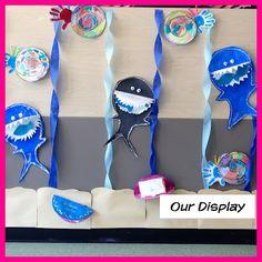 Summer School: Ocean Theme  Sharks,Crabs,Oysters