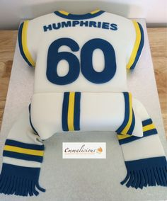 Design Your Own Cake Leeds : Leeds United football shirt cake My cakes Andrias cakes ...