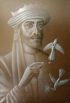 Pintura de Hernán Valdovinos.