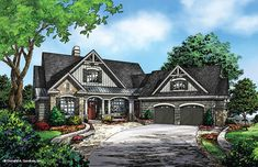 House Plan The Butler Ridge by Donald A. Gardner Architects