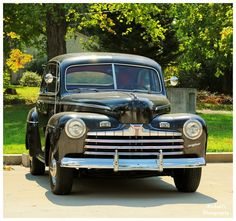 A 1946 Ford Super Deluxe like the one I had!