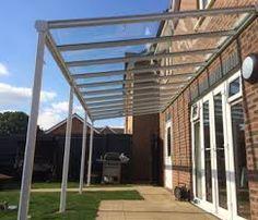 Gartenbauten & Sonnenschutz Cheap Sale Terrassenüberdachung 500 X 250 Cm Aluminium Mit Polycarbonat-platten 16mm Beautiful And Charming Garten & Terrasse