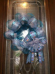 2015 Halloween Disney Frozen Glitter Ribbon Pattern Wreath - Mesh Elsa Wreaths for 2015 Halloween