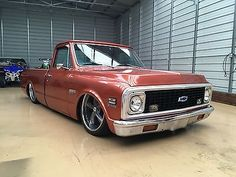 eBay: Chevrolet: C-10 1972 Chevy C10 bagged, classic, daily driver, short bed, large back window #classiccars #cars usdeals.rssdata.net
