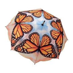 Monarch Butterfly umbrella~ ♛! WANT, WANT,WANT IT