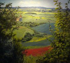 Jan Severa Czech Republic, My World, Paintings, Garden, Art, Paint, Painting Art, Garten, Kunst