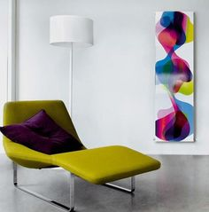 Is it a radiator, or is it artwork? These cool modern radiators by Caleido are both! The Therme home radiator is an masterful swirl of brilliant hues reminiscent of watercolor.