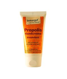 Propolis-Handcreme aus dem Schwarzwald. Ihr Intensivschutz für gestresste Hände. Pflegt und schützt ohne nachzufetten