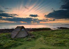 WEBSTA @ matt2484 - Freshwater West, Seaweed Hut#Love Wales, #Love Photography