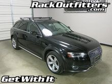 Audi A4 AllRoad Yakima RailGrab Round Bar Roof Rack '13-'15*