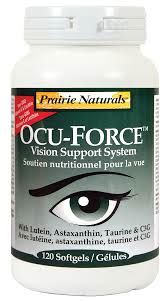 Prairie Naturals - Ocu-Force - Prevents Inflammation of the eyes - Revolutionary, Super-Antioxidant Supplement  - Reduces free radical damage