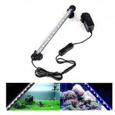 18cm LED SMD 5050 Aquarium Fish Tank Submersible Light