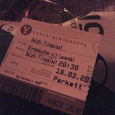 #Kino #birnenkuchenmitlavendel  #delphifilmpalast