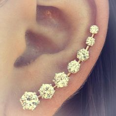 fashion blogger to think my ear once looked like this but much cheeseier