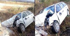 Ibotirama - Homem morre após colidir moto com carro da Coelba na BA-160