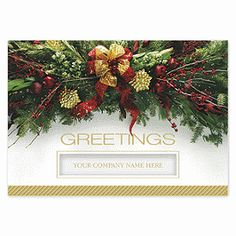 Grand Greetings Holiday Cards   H14635   Deluxe