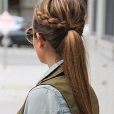 Side ponytail braid - bridesmaids?