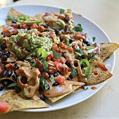 Vegan Nachos - Raw Till Whenever
