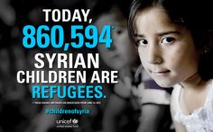 We dedicate today's #WorldRefugeeDay to the Syrian refugee children across the region who were forced to flee their homes. These children need our support: www.unicefusa.org/syria