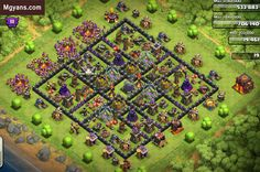 TH10 Farming Base of the Month  December 2014  Clash of Clans