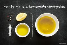 How to make a homemade vinaigrette: It's SO easy and infinitely better than anything store-bought   Cool Mom Eats