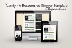 Camly Responsive Blogger template