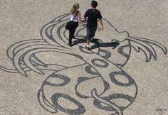 Calçada Portuguesa, Parque das Nações, Lisboa