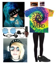 """""""♫ Break me cause I'm just not used to digging deep through all my idols graves. I'm starting to think this isn't all, this isn't all it's cracked up to be. ♫"""" by band-obsessed-forever ❤ liked on Polyvore featuring Burberry, INDIE HAIR, Vans and KAOS"""
