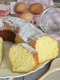 Italian Desserts, Vegan Desserts, Italian Recipes, Sweet Recipes, Cake Recipes, Dessert Recipes, Sweet Cooking, Plum Cake, Baking And Pastry