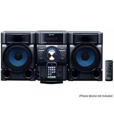 Sony 360W IPod/IPhone Dock Hi-Fi System - MHCEC709I