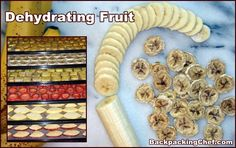 Great site with tips how to dehydrate different fruits (with a dehydrator) and recipes on what to do with them!