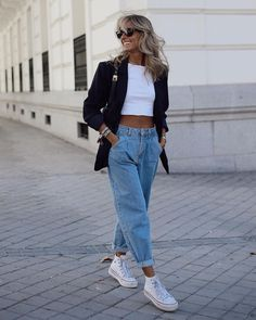 Smart Casual Wear, Style Casual, Work Casual, Stylish Outfits, Cute Outfits, Fashion Outfits, Fashion Trends, Daily Fashion, Slouchy Outfit