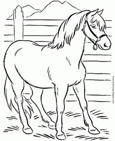 horse coloring pages free printable coloring book pages for boys1 e1368007526224 coloring book pages 2013 - Coloring In Book