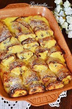 Gabriella kalandjai a konyhában :): Bécsi sült túrós palacsinta Hungarian Desserts, Hungarian Recipes, Sweet Recipes, Cake Recipes, Dessert Recipes, Easy Cooking, Cooking Recipes, Sweet Pastries, Creative Food