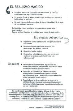 Realismo magico Spanish Teacher, Spanish Classroom, Teaching Spanish, Ap Spanish, Spanish Lessons, Spanish Courses, Ap Literature, Reading Practice, George Orwell