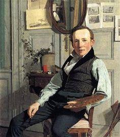 Retrato de Frederik Hansen Sødring - Christen Købke