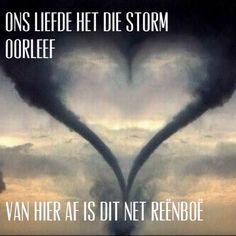 As liefde sterker is as die storm