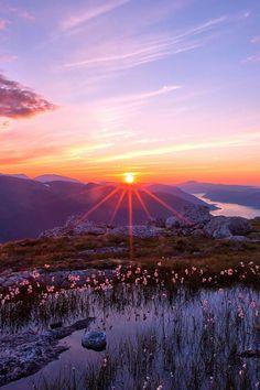 Mountain Sunset, The Appalachians, West Virginia photo via divine