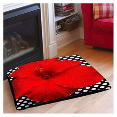 Thumbprintz Hibiscus Indoor/Outdoor Pet Bed >>> Want additional info? Click on the image. (This is an affiliate link and I receive a commission for the sales)