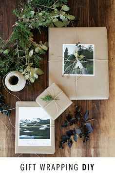 Gift wrapping DIY 101: The DIY guide to personalized presents and gift wrapping essentials.