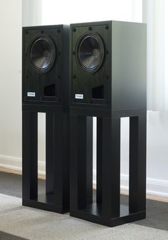 The Tocaro 30D Loudspeaker with and without grilles